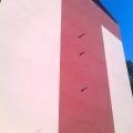 Zateplení stěn obytného domu a sanace lodžií