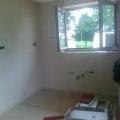 Stavební práce v rodinném domě v Jistebníku
